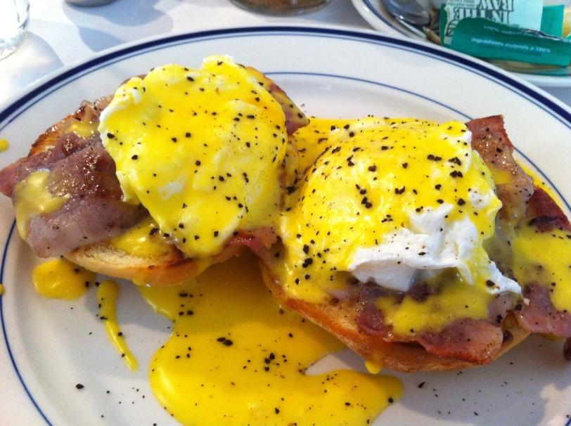 Eggs Benedict at Buttermilk Kitchen