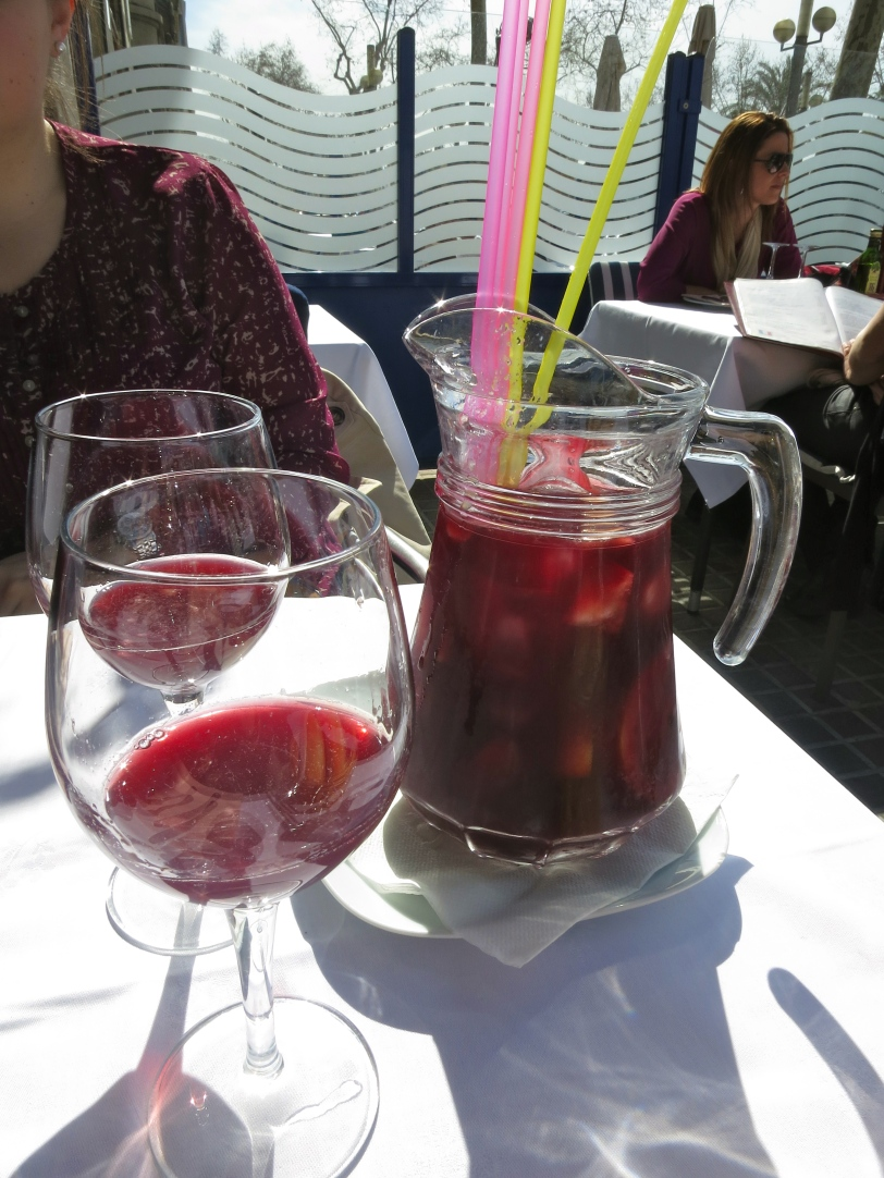 Sangria is always a must in Barcelona!