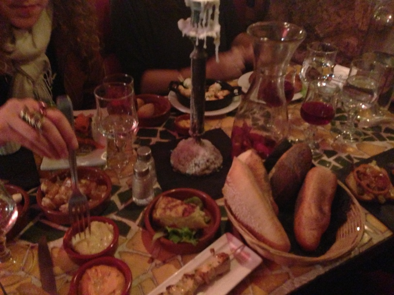 Have you ever seen so much food?
